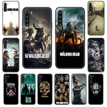 Movie The Walking Dead Phone case For Xiaomi Redmi Note S2 4 5 6 7 8 A S X Plus Pro black luxury back 3D shell trend funda(China)