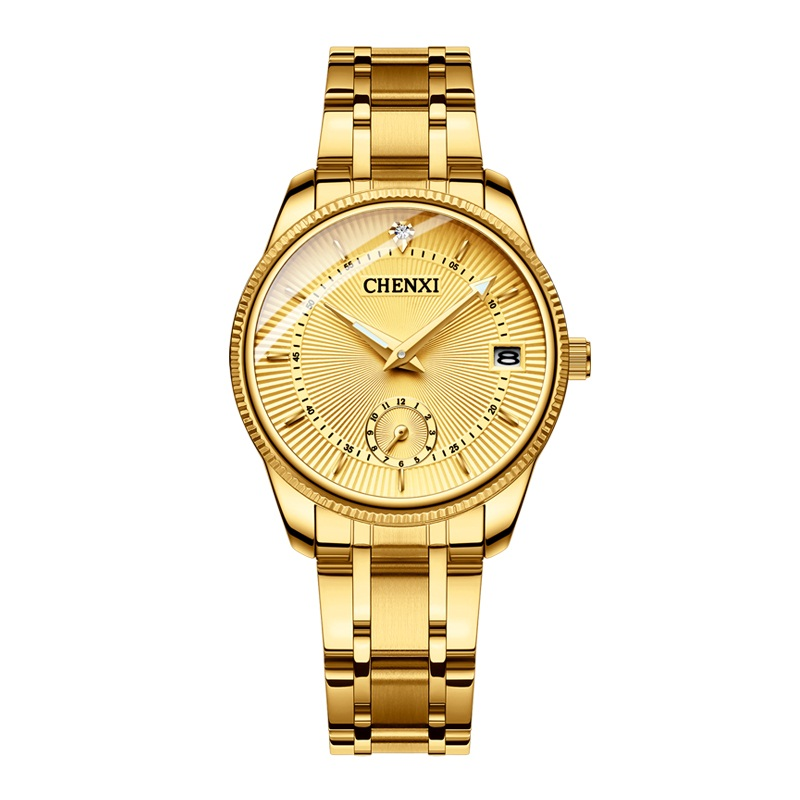 Hot Fashion Lovers Watches Women Men Creative Quartz Watch Golden Wristwatches Luxury Clock Brand Watches Calendar Reloje Hombre