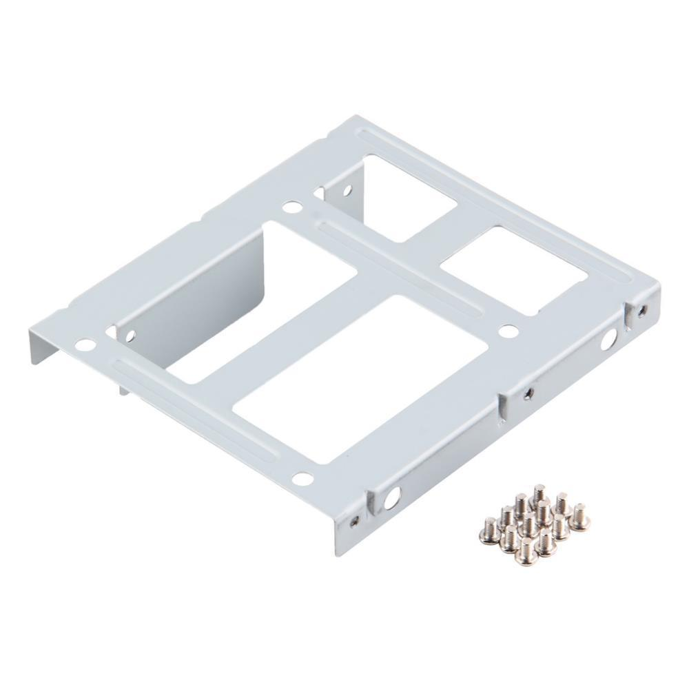 1pc 2-Bay 2.5 SSD HDD Hard Disk to 3.5 Drive Bay Converter Adapter Rack Bracket Wholesale image