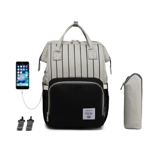 Diaper Bag Backpack Nappy Bag Baby Bags Mom Maternity Diaper Bag Travel Backpack Nursing Bag for Baby Care Women's Fashion Bags