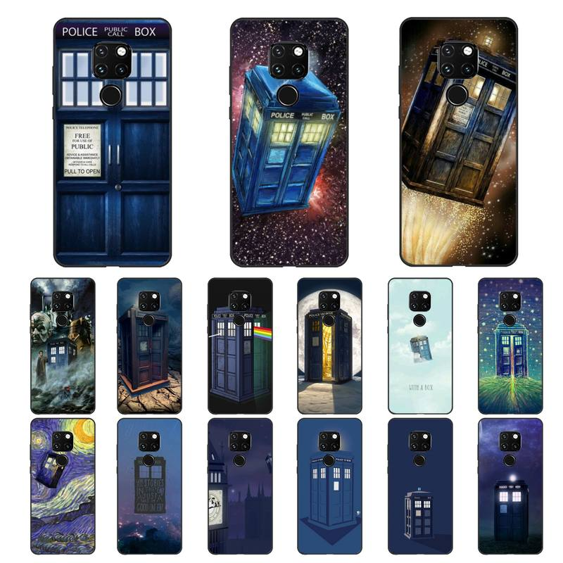 Tardis Doctor Dr Who Police Box Phone Cover For Huawei Honor 7A 8X 9 10 20lite 10i 20i 7C 8C 5A 8A Play 9X pro Mate 20 lite