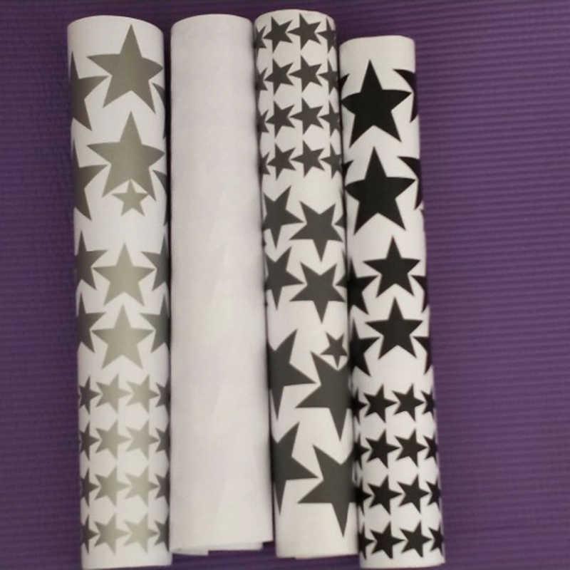 150 قطعة حجم مختلط سهلة تطبيق للإزالة نجوم النجوم ملصقات الاطفال ديكورات للحائط يموت قطع الفينيل ستار ملصق مائي هبوط السفينة