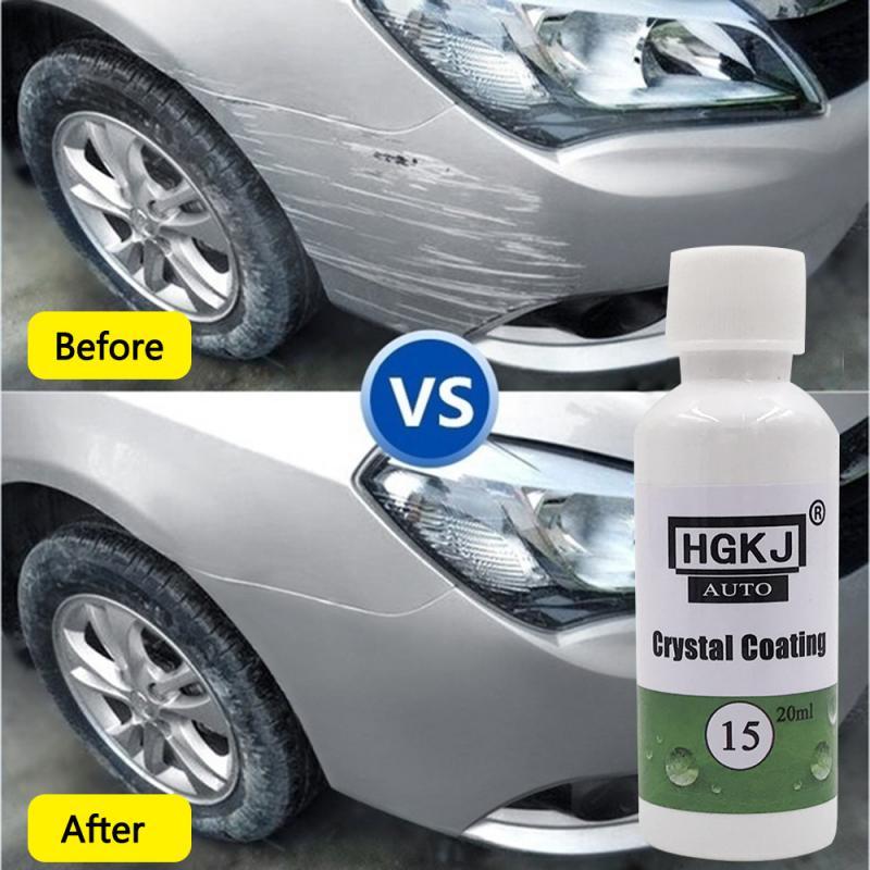 HGKJ-15 20ml Waterproof Coating Anti-fog Car Window Glass Cleaner Scratch Repair Agent Hydrophobic Coating Car Accessories TSLM1
