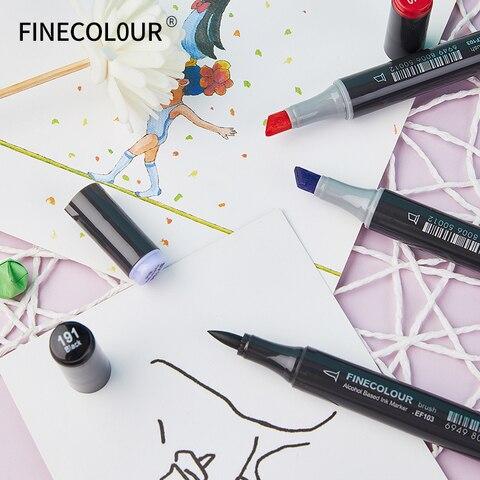 72 240 cores oleosa macio caneta marcador de cabeca dupla profissional