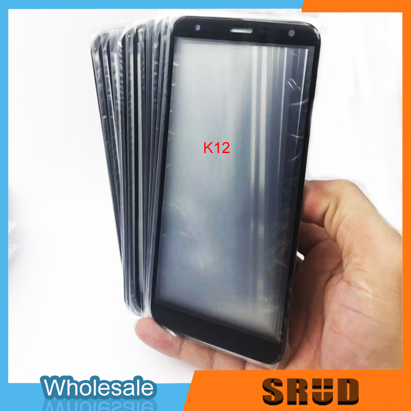 10Pcs Front Outer Screen Glass Lens Replacement Touch Screen For LG K40 K12+ K12 Plus <font><b>K12Plus</b></font> X4 2019 LMX420EMW image