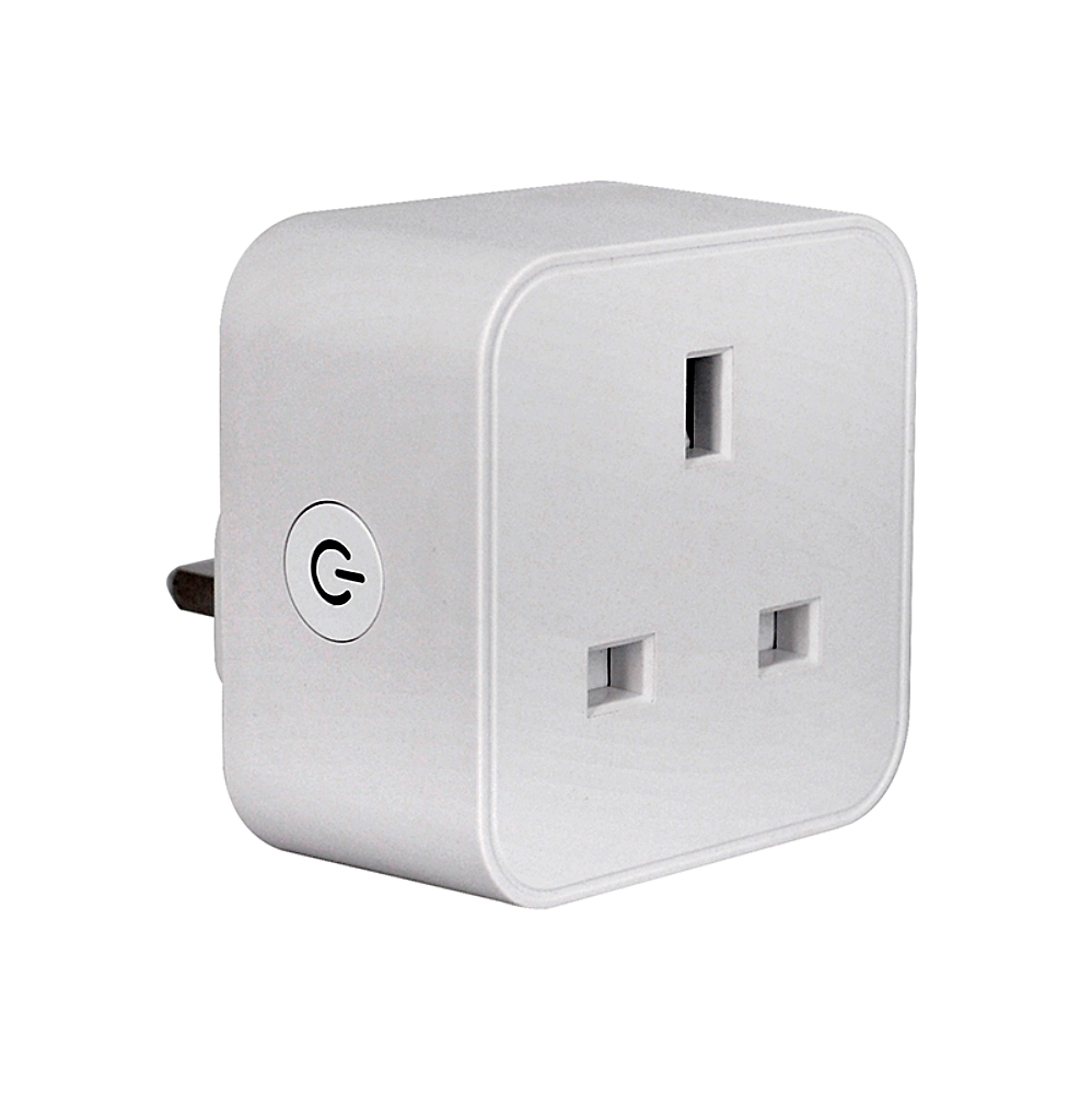 Hfafde23a6fd04d13bf80b3a5df2fd4dc9 - UK WiFi Switch Mini Socket Plug Wireless Extender Remote Outlet Adaptor Wattmeter Smart Home Automation Alexa Google Compatible