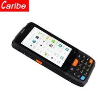 Leitor de código sem fio 1d b ip65 handheld áspero do laser de android de caribe pda