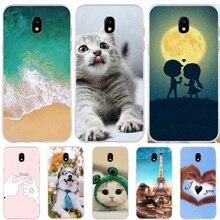 купить FOR Capa Samsung Galaxy J5 2017 J530F EU Version Case Silicone Ultra Thin Animal Cute 3D Cover FOR Funda Samsung J5 2017 Cases дешево