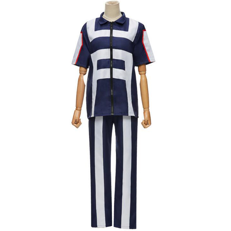 My Hero Academia Boku no Hero Cosplay Costume Men Women School Uniform Sport Suit Tshirt Pants Izuku Midoriya Todoroki Shouto 6