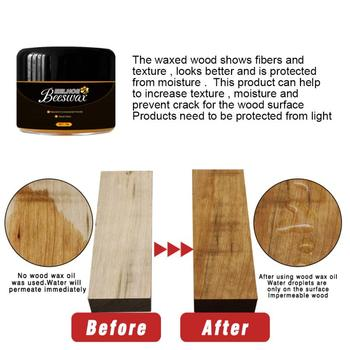 Gospodarstwa domowego z litego drewna polerowanie wosk pszczeli wosk pszczeli drewno polskie środki chemiczne do czyszczenia gospodarstwa domowego artykuły gospodarstwa domowego tanie i dobre opinie CN (pochodzenie) Ciecz 20 ml Beeswax 3 75*3 1cm 5*3 8cm 5 5*5cm support Household solid wood polishing beeswax beeswax