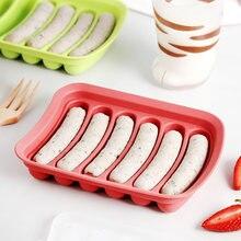 Силиконовая форма для хот догов diy колбасная яичная коробка