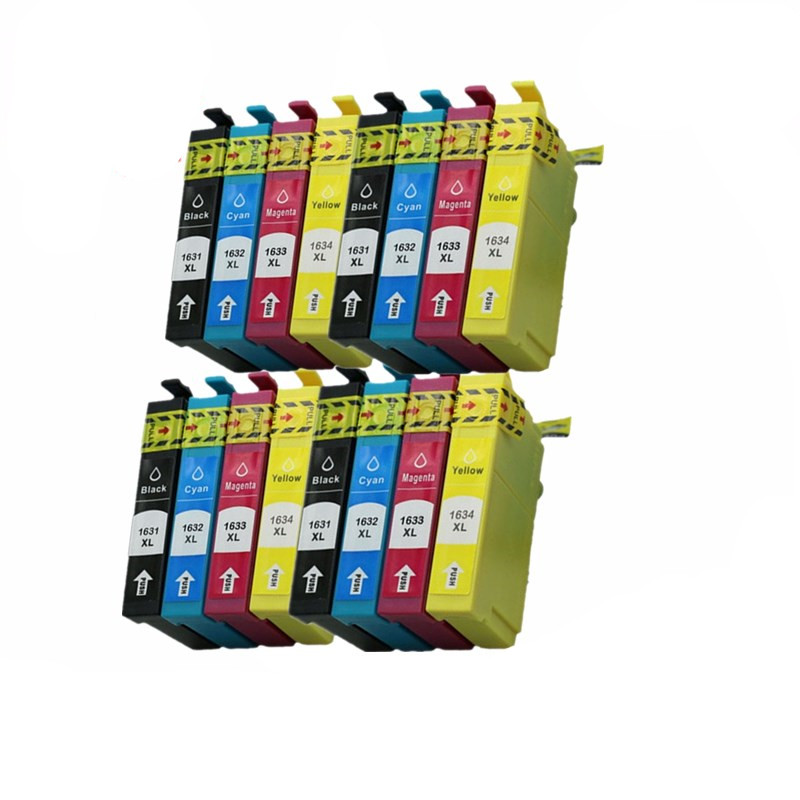 T1631 T1632 T1633 T1634 T1636 T1621 T1622 T1623 T1624 Ink Cartridge ForWorkforce WF2010 WF2510 WF2520 Wf2530 WF2540 Inkjet Print