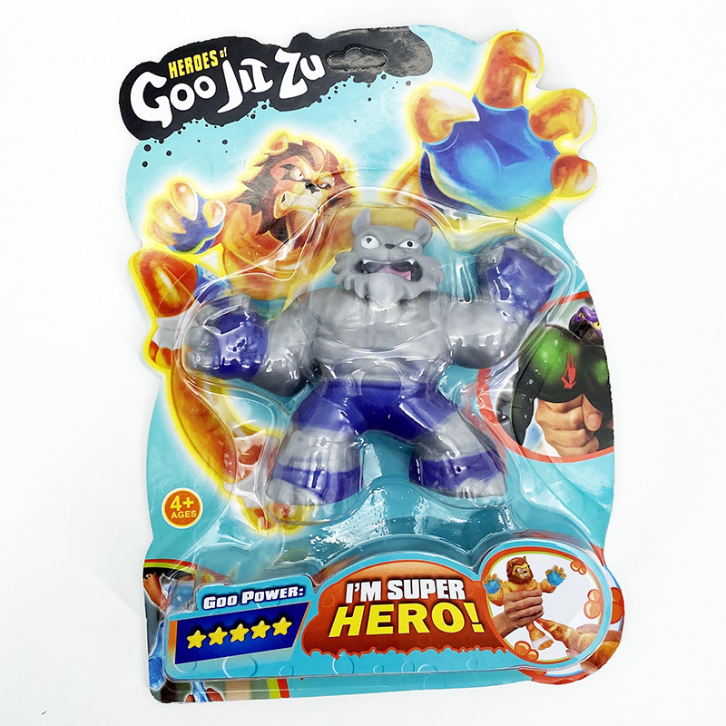 Heroes Of GOO Jit Zu Copy Software Vs Soft Shark Lion Wolf Toys Slimy Stress Relief Squeeze Hobbies Dolls Interesting Kids Gift