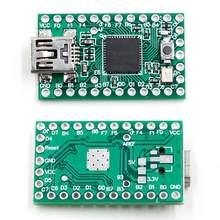 Novo produto teensy 2.0 usb teclado e mouse teensy usa avr isp experiência placa u disco mega32u4