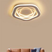 Светодиодный потолочный светильник люстра в скандинавском стиле