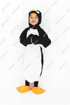 Lovely Little Penguin Animal Performance Costume Adult Child Luxury Penguin Costume Parent-child Madagascar Penguin Kids Gift фото