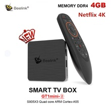 Beelink GT1 mini-2 Smart TV Box Support Netflix HD IPTV Amlo