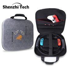 Switch Fitness Ring Storage Bag Travel Bag Handbag for NS-Switch NS Ring Switch Ring Fit Adventure Case