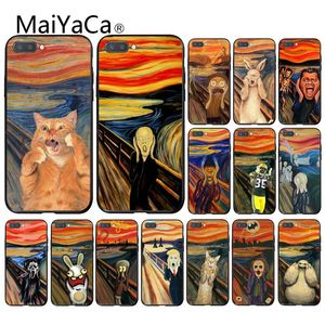 Maiyaca Edvard Munch The Scream art painting Phone Case for Huawei Honor 8X 9 10 20 Lite 7A Pro 7C 10i 9X Pro Play 8C(China)