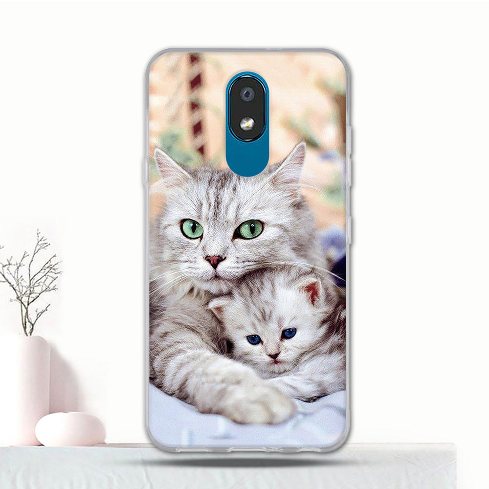 Cover Case For LG K30 2019 Thin Silicone 3D Printing Pattern Cartoon Coque For LG X2 2019 Cover 5.45 Inch Funda Bumper Case