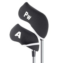 10Pcs Golf Club Head Covers Iron Putter Protective Head Cover Putter Headcover Set Outdoor Sports Golf Accessories(China)