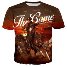 2021 Hot Sale Red Dead Redemption Men/women New Fashion Game 3D Printed T-shirts Casual Style Hip-hop Short Sleeve Streetwear
