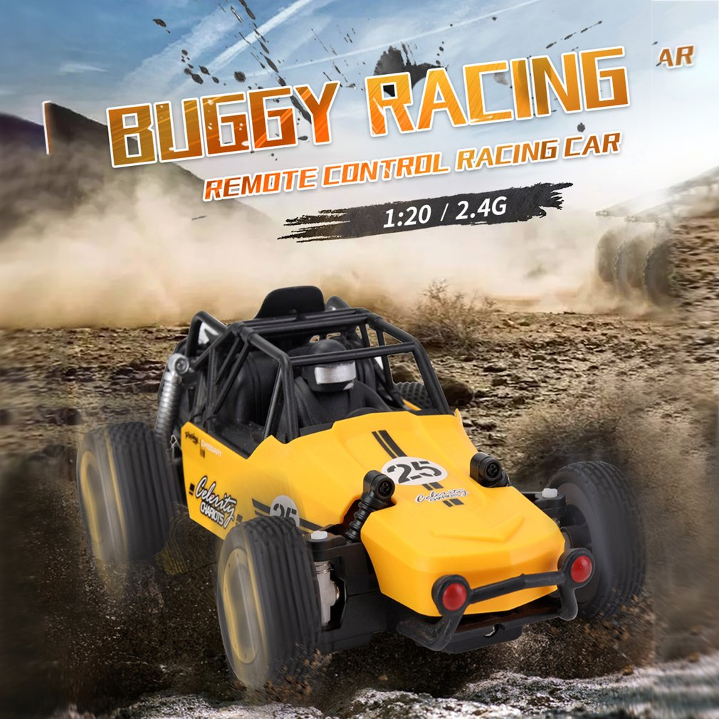 JJRC Q73 High Speed Racing Car 4WD Remote Control Climbing Car Model Off-Road Vehicle Power Wheels Gift for Children