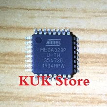 Real 100% Original NEW MEGA328P AU / ATMEGA328P U-TH ATMEGA328P-AU ATMEGA328PAU QFP32 5PCS/LOT цена 2017