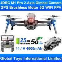 Dron profesional con cámara 4K HD, cuadricóptero con cardán de 2 ejes, Motor sin escobillas, GPS, 5G, WIFI, FPV, VS SG906 Pro 2 GD91 MAX, 4DRC M1 Pro