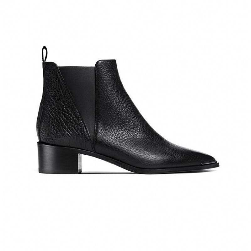 Pointed Toe Chelsea Boots Shoes 34
