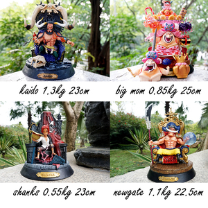 Action 23CM One Piece Figure KAIDO BIGMOM SHANKS NEWGATE GK Fourth King OF Anime One piec Figure PVC Model Toys For Children(China)