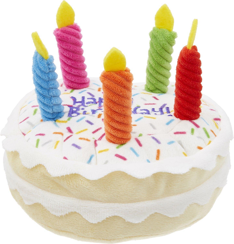 Милая собака моляр игрушка плюшевый торт на день рождения игра Интерактивная защита от укусов пищалка тренировочная Жевательная мягкая ке...