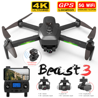SG906 MAX / Pro 2 GPS Drone mit Wifi FPV 4K Kamera Drei-achsen Gimbal Bürstenlosen Professionelle Quadcopter hindernis Vermeidung Eders, quadcopter, 4k drone long distance