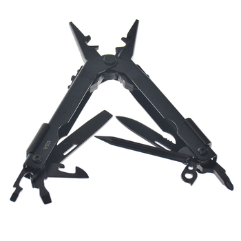 13 in 1 pliers multitool folding pocket edc camping outdoor survival pliers hunting screwdriver kit bits bottle opener hand tool