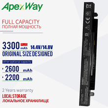 14.8v Battery For Asus A41 X550 A41 X550A  K550 P450 P550 R409 R510 X450 X550 X550C X550A X550CA A450 A550 F450 F550 F552