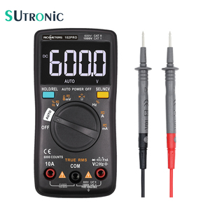 RM102PRO Digital Multimeter 6000 counts Auto Back light AC/DC Voltmeter transistor tester Frequency Diode Temperature(China)