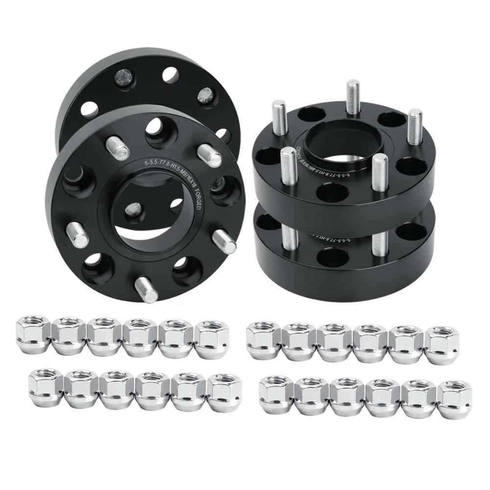 SCITOO 2X 5 Lug 50mm Wheel Spacers Adapters hub Centric 5x5.5 to 5x5.5 1//2 71.5 2 Compatible with 1999-2017 for Jeep Grand Cherokee 2007-2017 for Jeep Wrangler