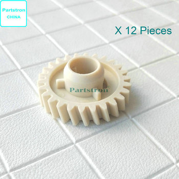 12Pieces Lower Roller Gear RU7-0139-000 For use in HP LaserJet Pro 1606DN M1536DNF M201n M225dw Printer Parts image