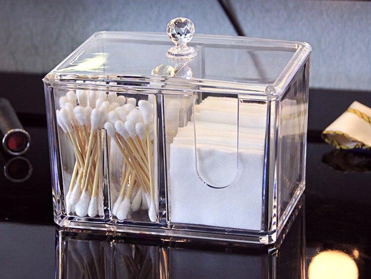 Cotton pad plastic storage box (3)