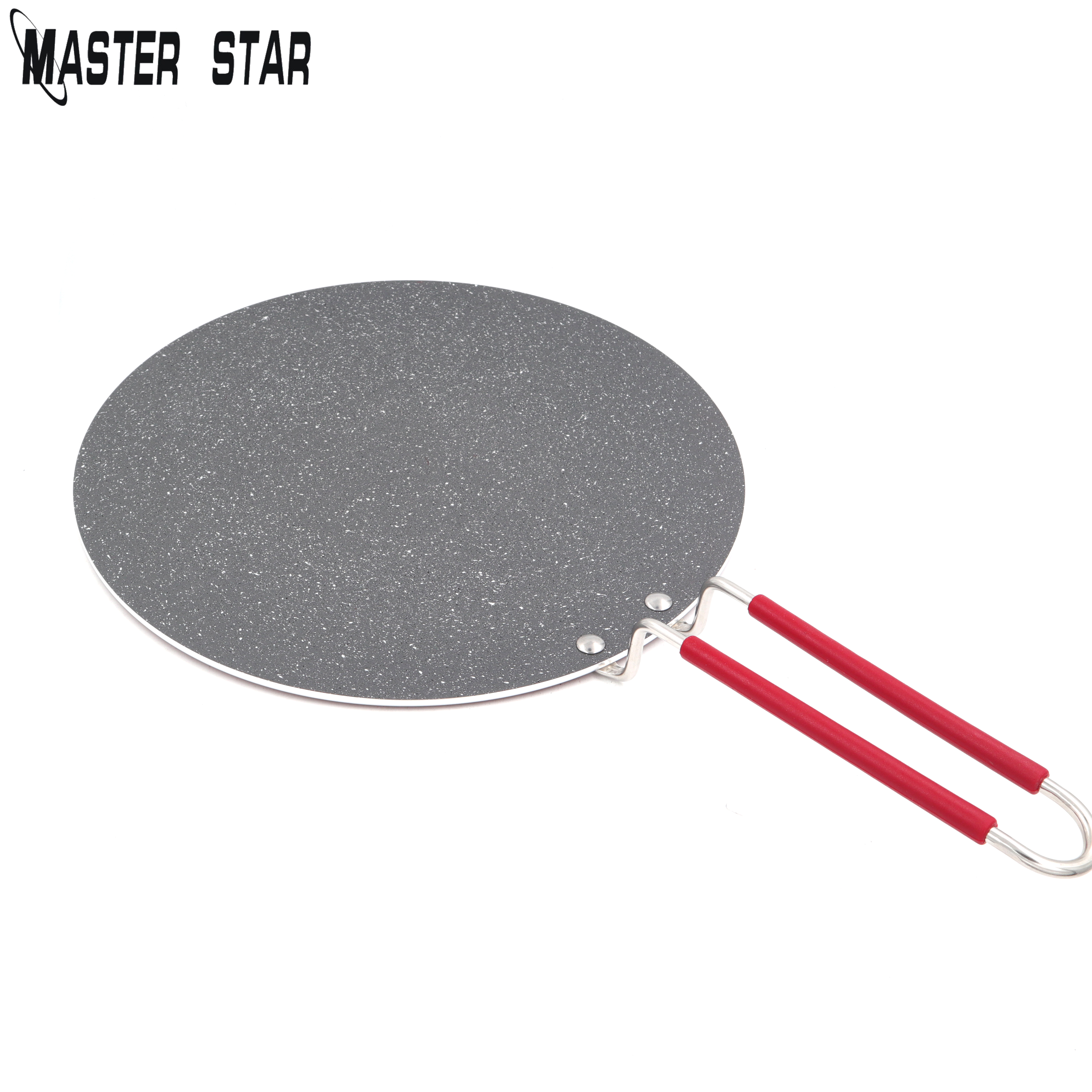 Master Star 34cm Flat Crepe Pan Arabian Bread Chapatis Pancakes Large Non-stick Frying Pan For Naan Bread Gas Cooker 1