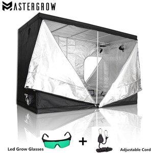 Image 1 - Indoor Hydrocultuur Groeien Tent Voor Led Grow Light, Groeien Kamer Box Plantaardige, reflecterende Mylar Niet Giftig Tuin Kassen