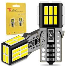2 pçs canbus t10 w5w lâmpadas led 24smd 4014 led interior do carro luzes para geely emgrand ec7 x7 mk 7 citroen c1 c3 c5 x7 c4 picasso