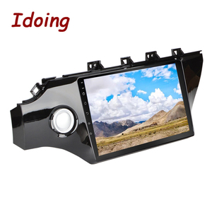 """Image 4 - Idoing 10.2""""4G+64G 2.5D IPS Octa Core 1Din Car Android Radio Video Player For Kia Rio K2 2017 2018 GPS Navigation and GLONASS"""