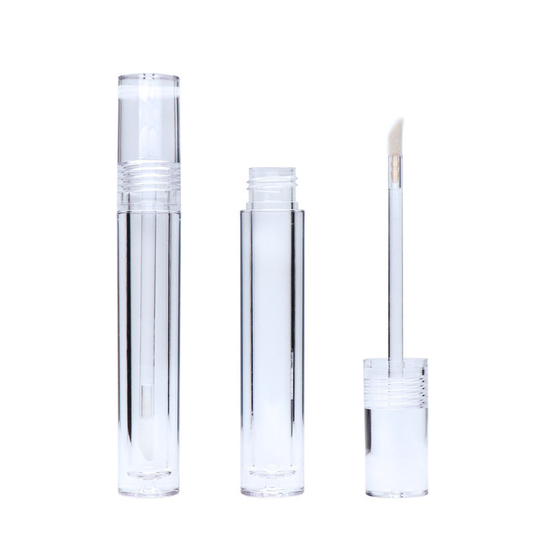Transparent brillant à lèvres Tube conteneur 5.5 ML rouge à lèvres vide 25/50/100 pièces clair brillant à lèvres Tube conteneurs