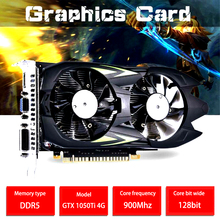 Computer Graphic-Card Memory-Video-Card Gaming Gtx 1050ti 4G Frequency-Gpu 900mhz-Core