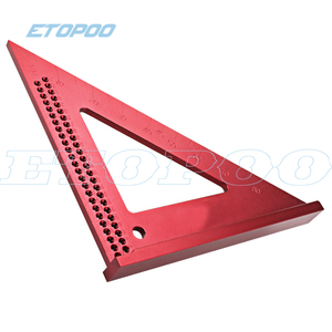 Woodworking Line Ruler Hole Scribing Gauge Woodworking Crossed-out Measuring Tool Precision Squares Triangle Ruler T50 Scribe
