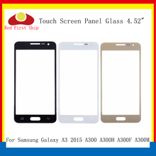 10Pcs/lot Touch Screen For Samsung Galaxy A3 2015 A300 A300H A300F Touch Panel Front Outer Glass Lens A3 Touchscreen LCD Glass цена
