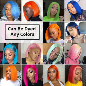 Image 3 - Kısa Bob peruk sarışın 613 dantel ön insan saçı peruk Ombre T1B/613 renk brezilyalı düz uzun ön koparıp siyah kadınlar için Remy