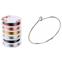 Earring Beaded-Wire DIY 29x25mm 100pcs 6pcs Jewelry Hoops Charm Wine-Glass