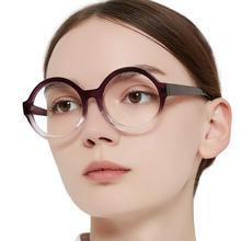 Round Reading Glasses Women Vintage Eyeglasses Reading Decorative Glasses Transparent Presbyopia Eyewear +1 +1.5 +2.5 OCCI CHIAR